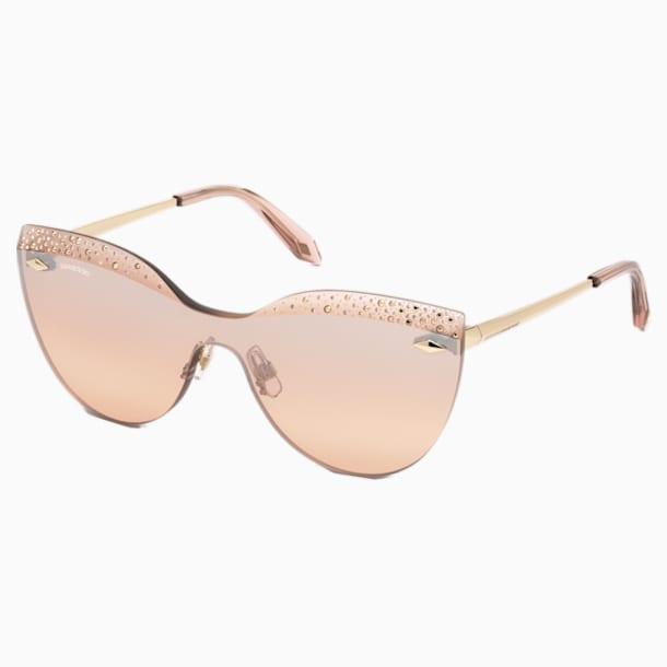 Moselle Mask Sonnenbrille, rosa - Swarovski, 5443920