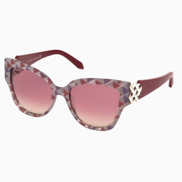 Nile Square Sunglasses, SK161-P 81Z, Purple - Swarovski, 5443922