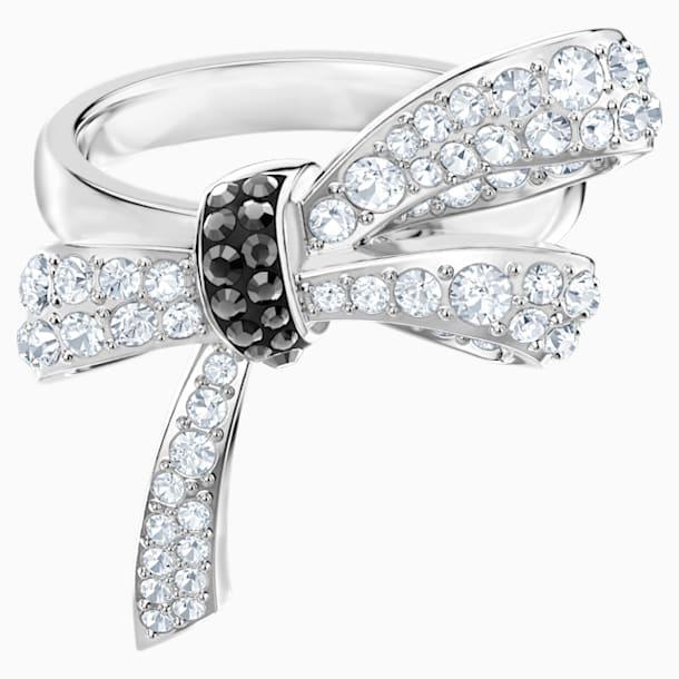 Mademoiselle Ring, Multi-coloured, Rhodium plated - Swarovski, 5444826