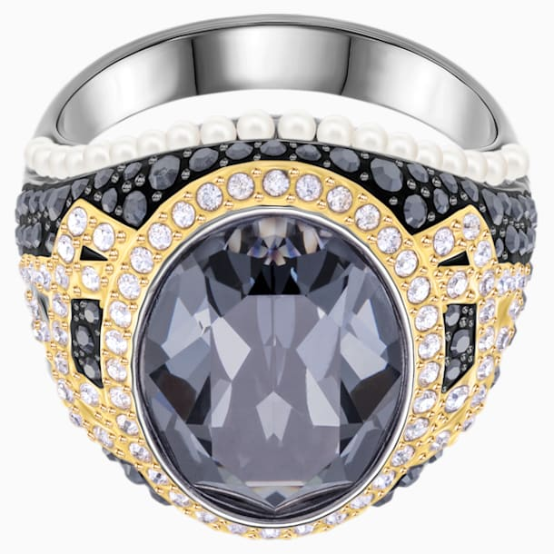Millennium 鸡尾酒戒指, 彩色设计, 多种金属润饰 - Swarovski, 5448832