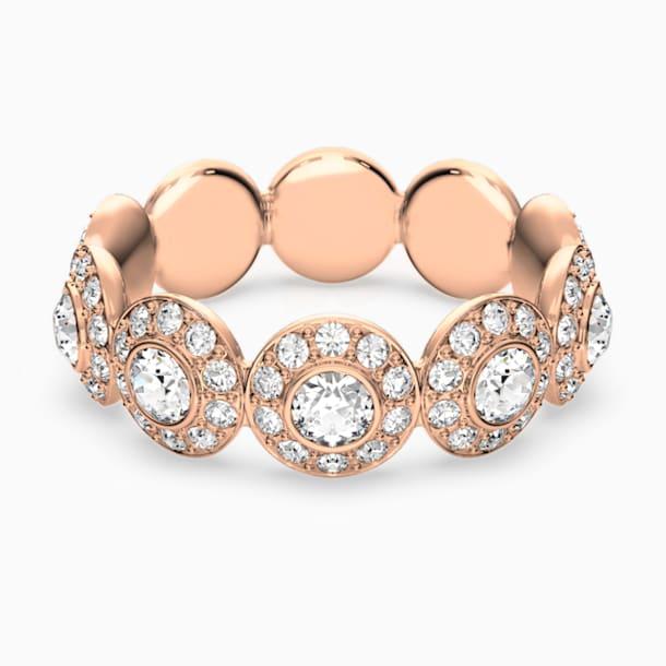 Angelic gyűrű, fehér, rozéarany árnyalatú bevonattal - Swarovski, 5448877