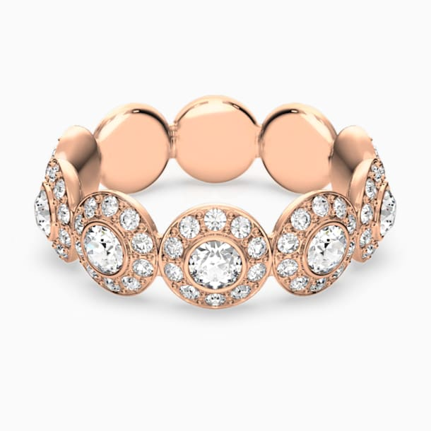 Angelic Ring, weiss, Rosé vergoldet - Swarovski, 5448877