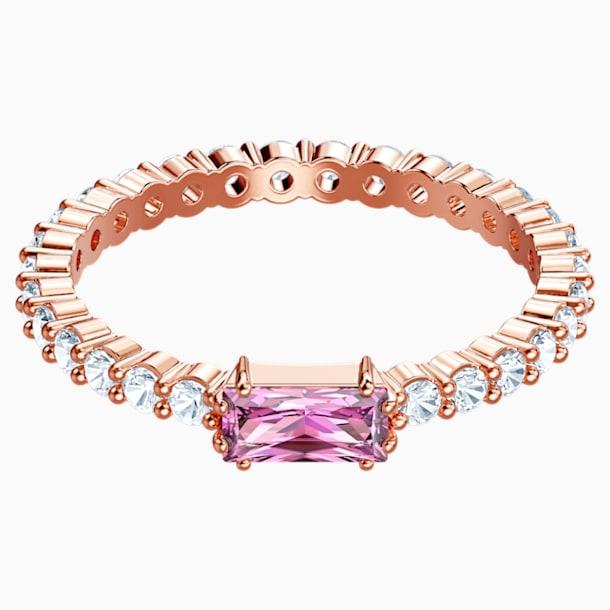 Vittore Ring, Multi-colored, Rose-gold tone plated - Swarovski, 5448890