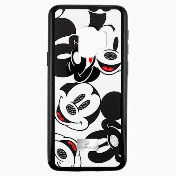 스와로브스키 갤럭시S9 케이스 Swarovski Mickey Face Smartphone Case with integrated Bumper, Galaxy S9, Black