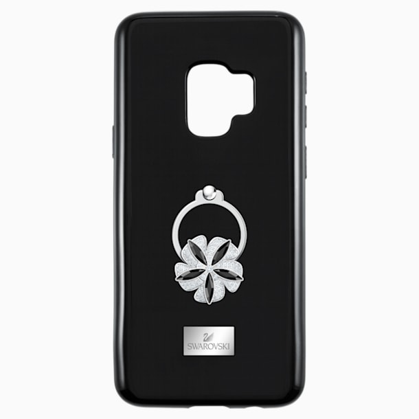 Mazy ring Smartphone Case with integrated Bumper, Galaxy S®9, Black - Swarovski, 5449145