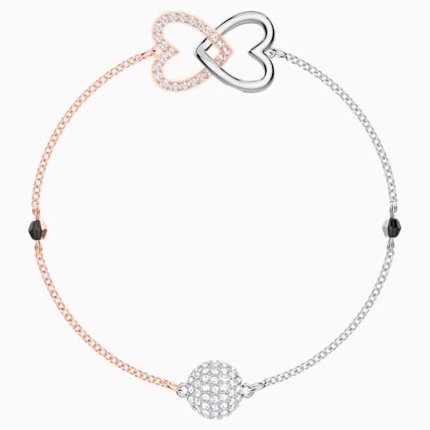 Swarovski Remix Collection Forever Strand, White, Mixed metal finish - Swarovski, 5451098