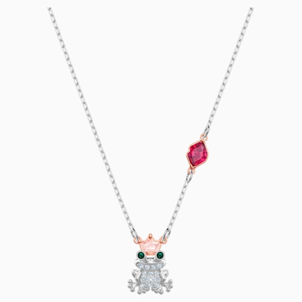 Out of this World Kiss Necklace, Multi-coloured, Mixed metal finish - Swarovski, 5456136