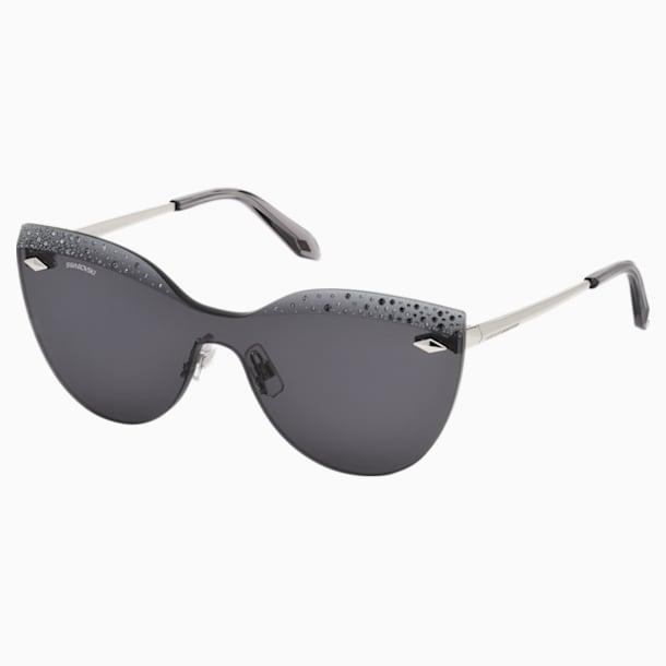 Moselle Mask Sunglasses, SK160-P 16A, Gray - Swarovski, 5456282