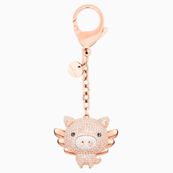 Little Pig Çanta Charm'ı, Pembe, Karışık kaplama - Swarovski, 5457471