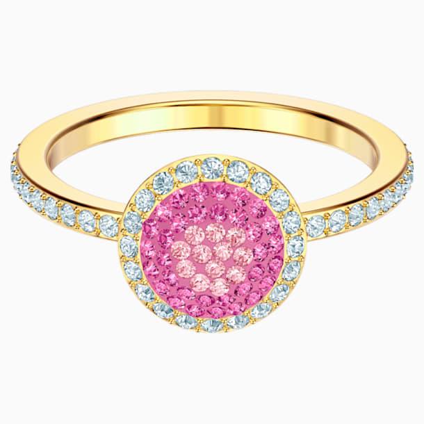 No Regrets 戒指, 多色設計, 鍍金色色調 - Swarovski, 5457494