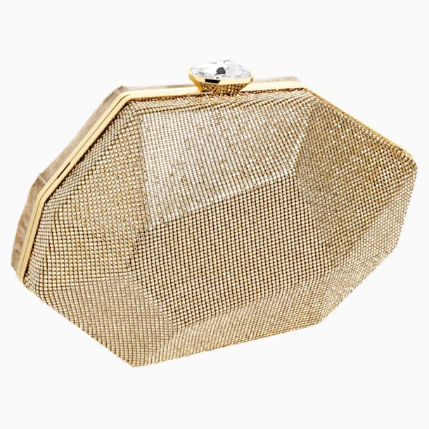 Marina Mini Bag, Gold tone - Swarovski, 5457877