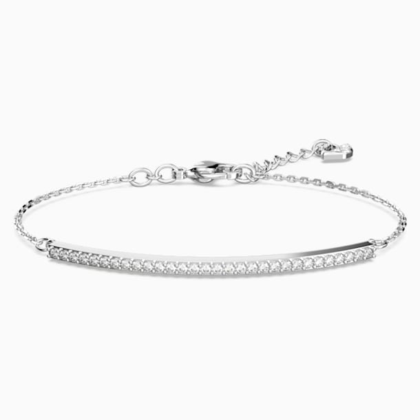 Bracelet Only, blanc, Métal rhodié - Swarovski, 5460440