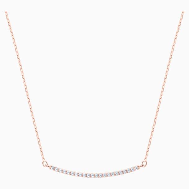 Only Halskette, weiss, Rosé vergoldet - Swarovski, 5464129