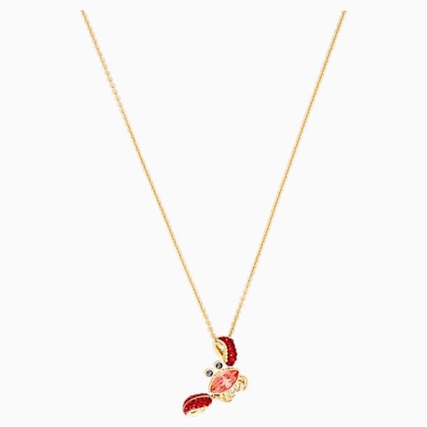 Colgante Ocean Crab, multicolor, Baño en tono Oro - Swarovski, 5465940