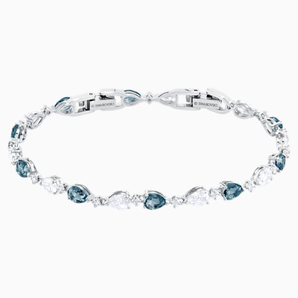 Bracelet Vintage, bleu, Métal rhodié - Swarovski, 5466882