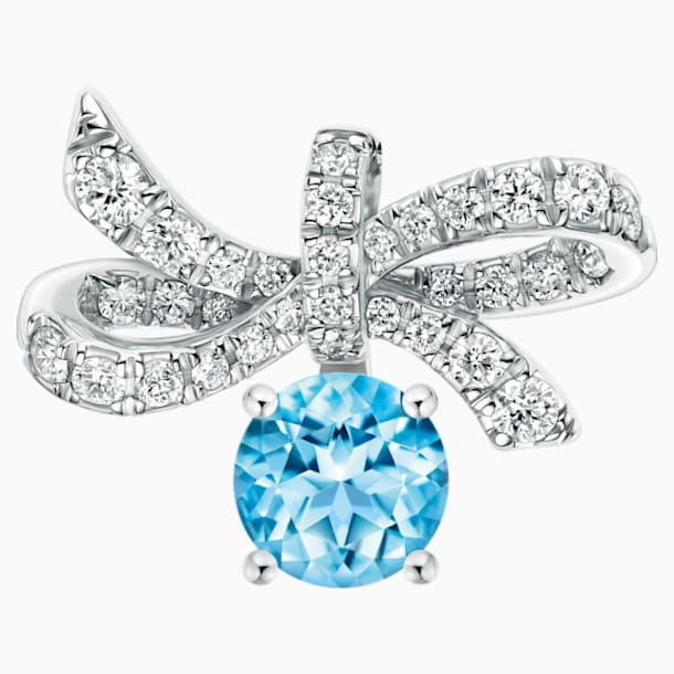 Gorgeous Pendant, Ice Blue - Swarovski, 5468489