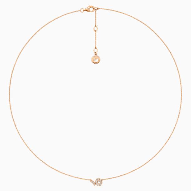 Zodiac Necklace, Capricorn - Swarovski, 5468503