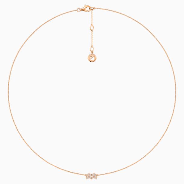 Zodiac Necklace, Aquarius - Swarovski, 5468504