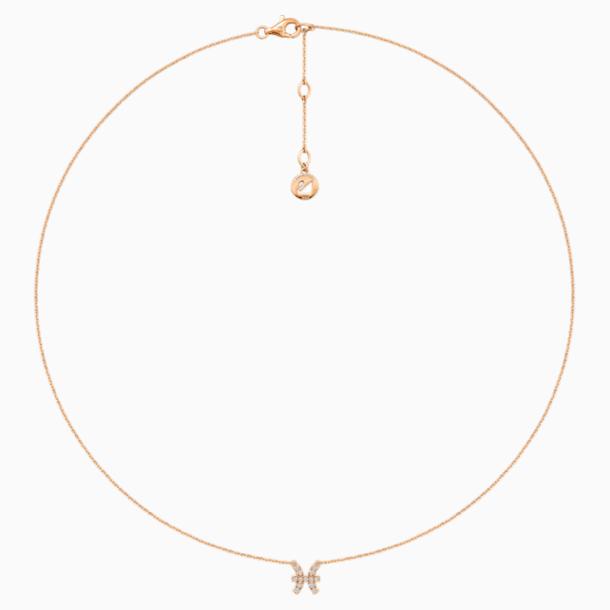 Zodiac Necklace, Pisces - Swarovski, 5468505
