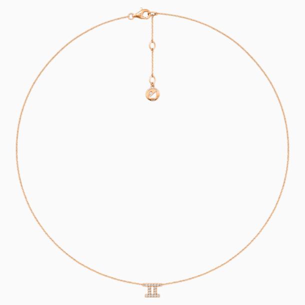 Zodiac Necklace, Gemini - Swarovski, 5468508