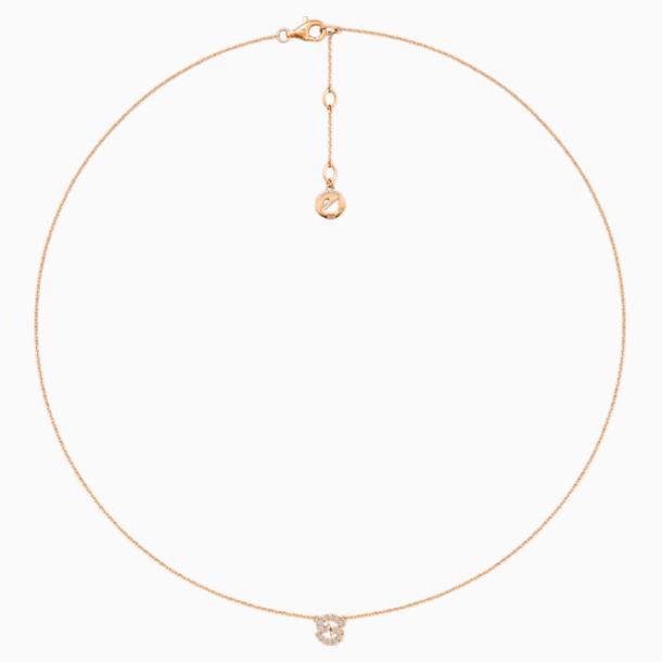 Zodiac Necklace, Cancer - Swarovski, 5468510