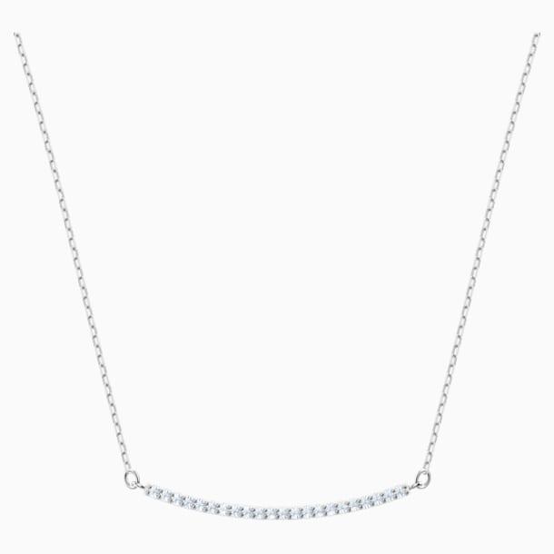 Collier Only, blanc, Métal rhodié - Swarovski, 5470555