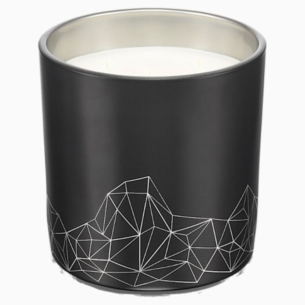 Candle, Sandalwood & Cedar, Large, Black - Swarovski, 5471055