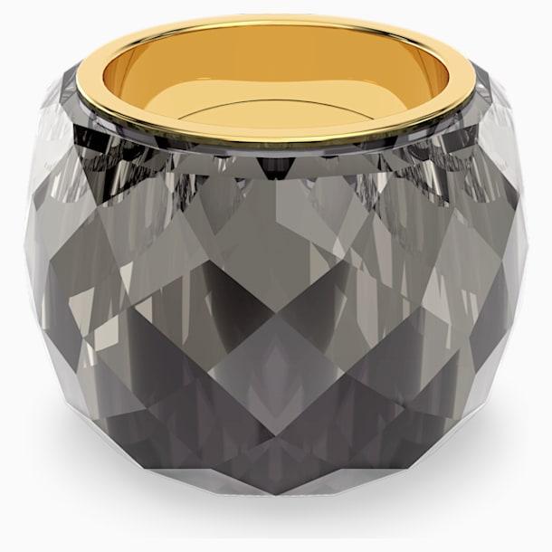 Pierścionek Nirvana Swarovski, szary, powłoka PVD w odcieniu złota - Swarovski, 5474357