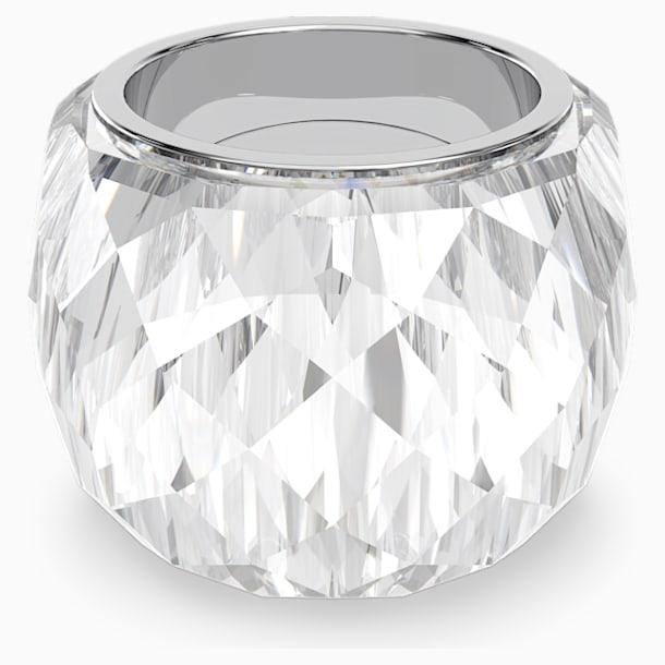 Inel Swarovski Nirvana, nuanță argintie, oțel inoxidabil - Swarovski, 5474362