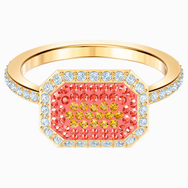 No Regrets Ring, Multi-colored, Gold-tone plated - Swarovski, 5474415