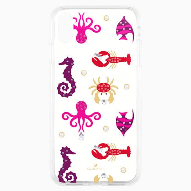 Sea Life Smartphone case with integrated Bumper, iPhone® XR, Transparent - Swarovski, 5474749