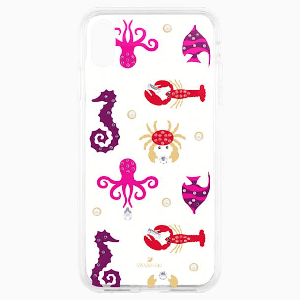 Sea Life Smartphone case with integrated Bumper, iPhone® XR, Transparent - Swarovski, 5474749