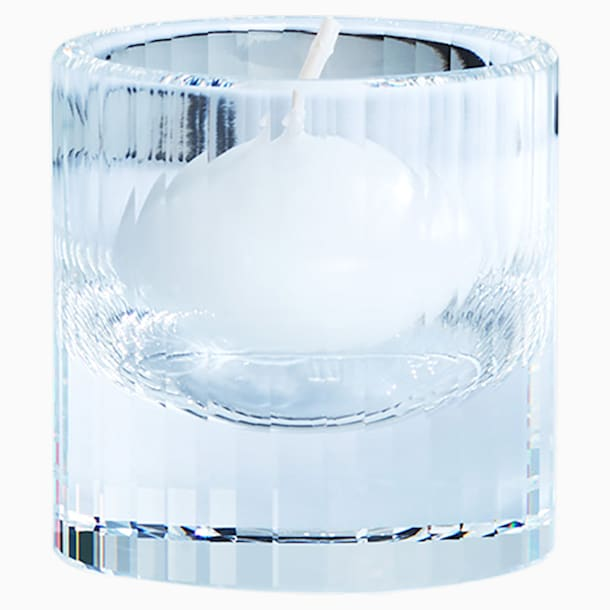 Vessels Tea Light Holder, White - Swarovski, 5476725
