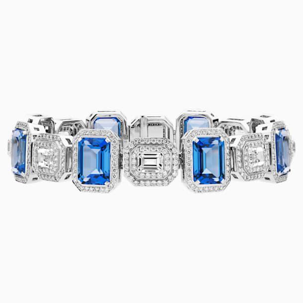 Ángel Bracelet, Swarovski Created Sapphires, 18K White Gold - Swarovski, 5476770