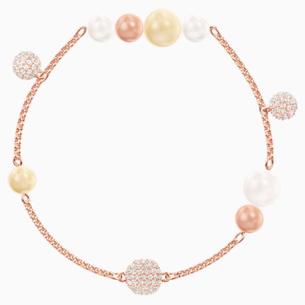 Swarovski Remix Collection Pearl Strand, Multi-coloured, Rose-gold tone plated - Swarovski, 5479007
