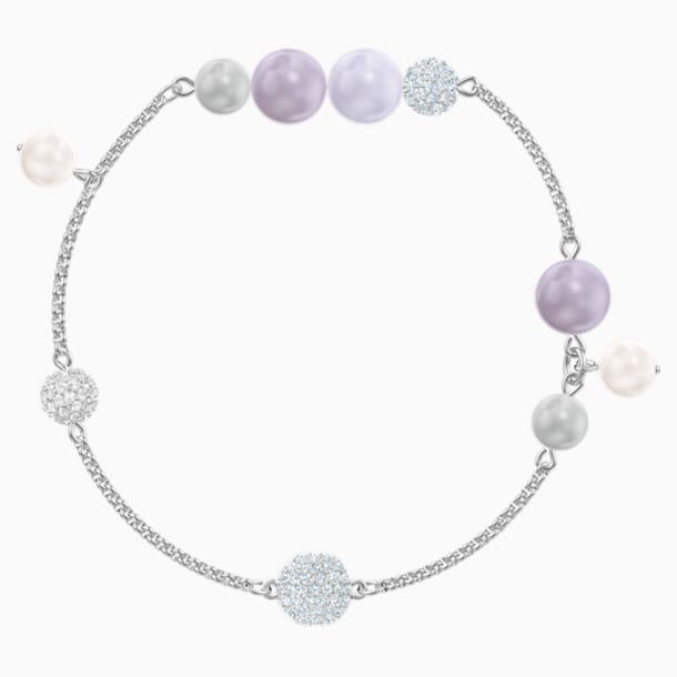 Swarovski Remix Collection Pearl Strand, 多色設計, 鍍白金色 - Swarovski, 5479025