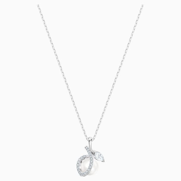 Leonore Pendant, Multi-colored, Rhodium plated - Swarovski, 5479973
