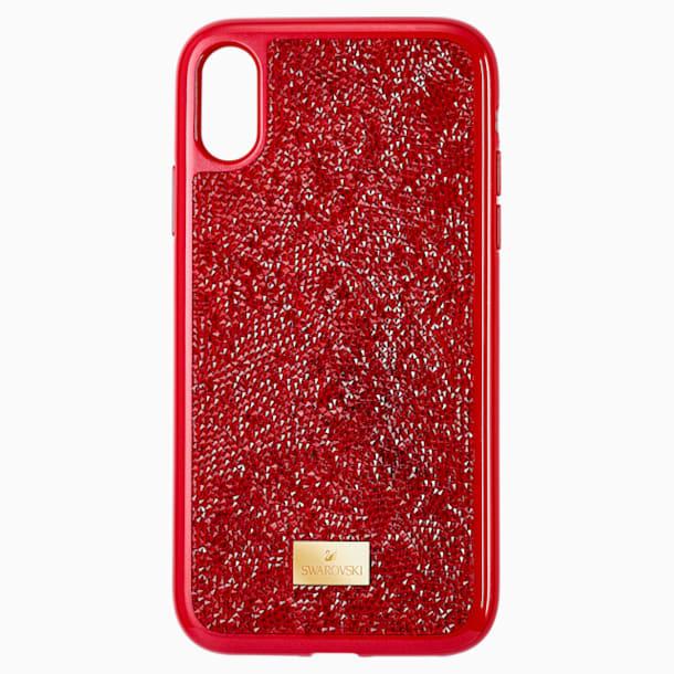 Glam Rock Akıllı Telefon Kılıfı, iPhone® XR, Kırmızı - Swarovski, 5481449