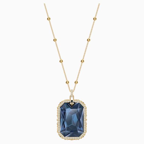 Tarot Magic Pendant, Blue, Gold-tone plated - Swarovski, 5482977
