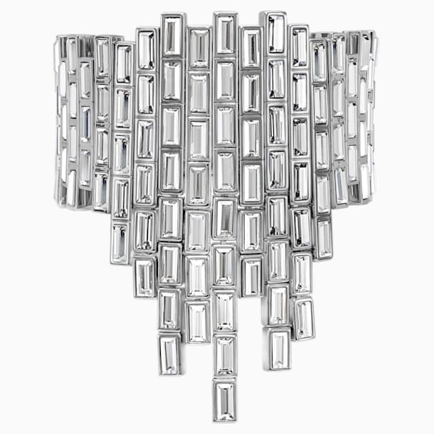 Fluid Azzurro Bracelet, Grey, Palladium plated - Swarovski, 5483204