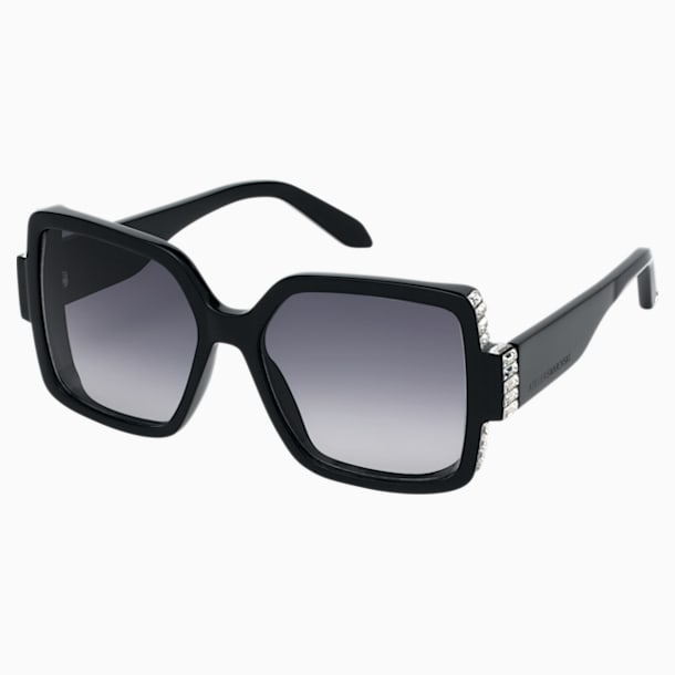 Atelier Swarovski Sunglasses, SK237-P 01B, Black - Swarovski, 5484397