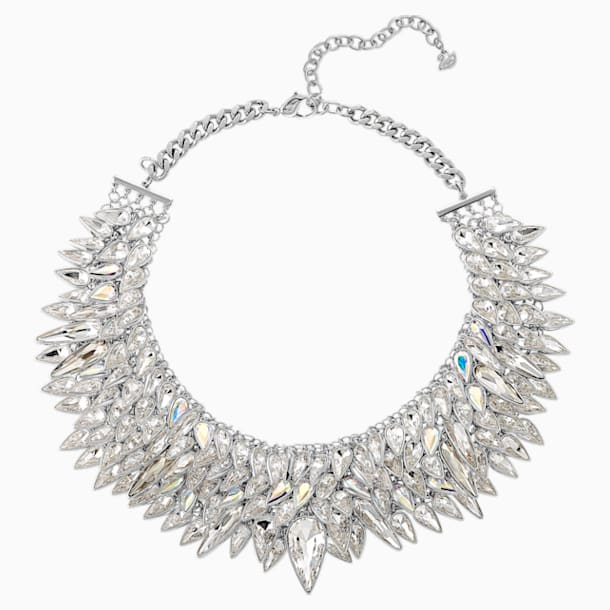 Polar Bestiary Necklace, Multi-coloured, Rhodium plated - Swarovski, 5485881