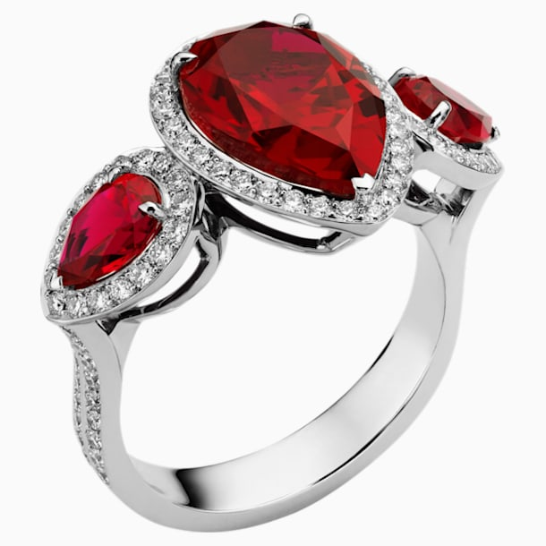Lola Ring, 18K White Gold, Size 57 - Swarovski, 5487235