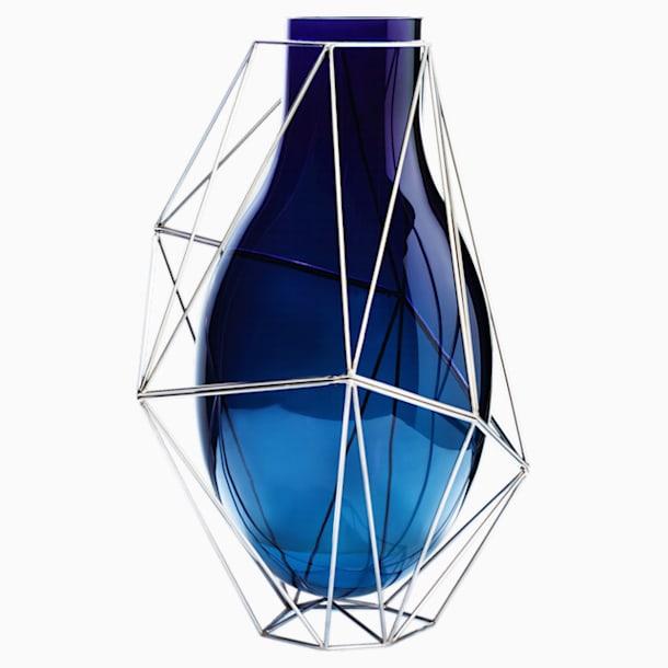 Framework Vase, Large, Blue - Swarovski, 5488383