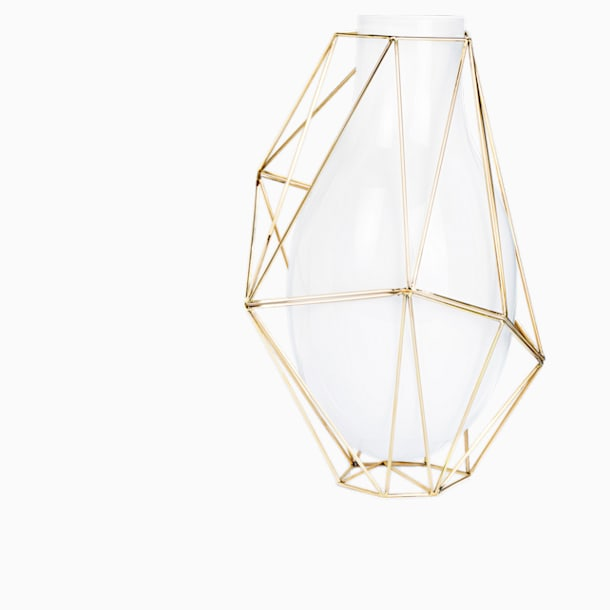 Vaso Framework, bianco - Swarovski, 5488386