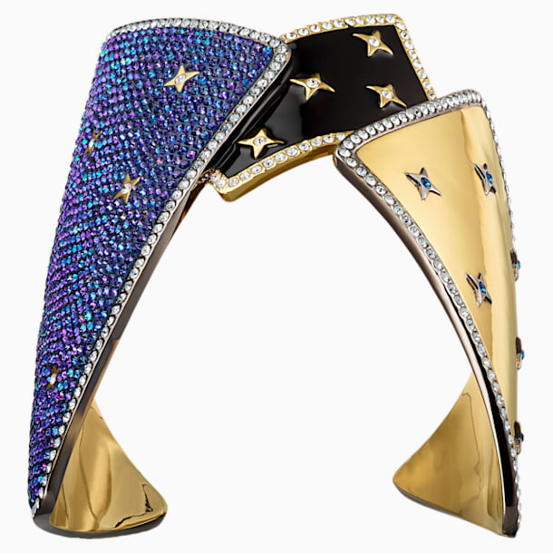 Chromancy 闊手鐲, 多色設計, 多種金屬潤飾 - Swarovski, 5489074