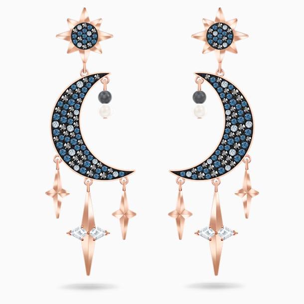 Swarovski Symbolic Pierced Earrings, Multi-colored, Mixed metal finish - Swarovski, 5489536