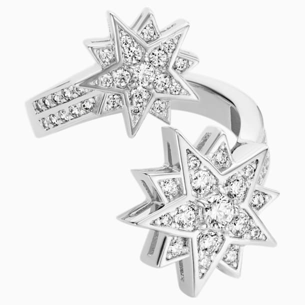 Penélope Cruz Moonsun Ring, Limited Edition, White, Rhodium plated - Swarovski, 5489772