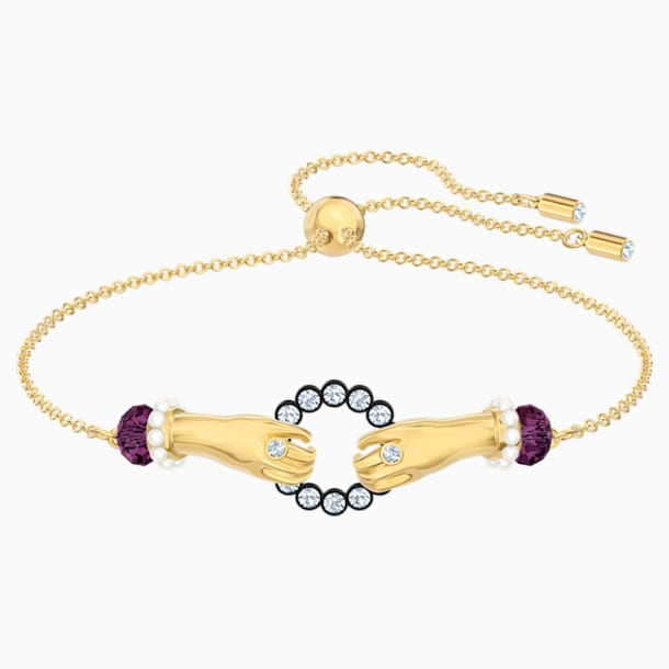 Tarot Magic Bracelet, Multi-coloured, Gold-tone plated - Swarovski, 5490914