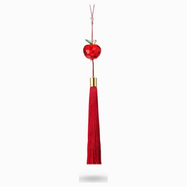 Ozdoba červené jablko - Swarovski, 5491975
